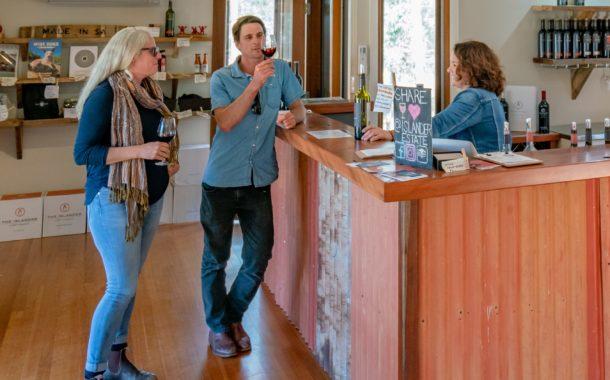 Enjoy a guided tasting at The Islander Estate Tasting Room
