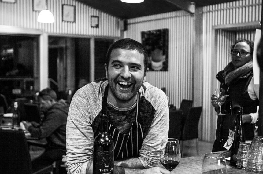 Nicolas Arriola at Dudley Wines Cellar Door