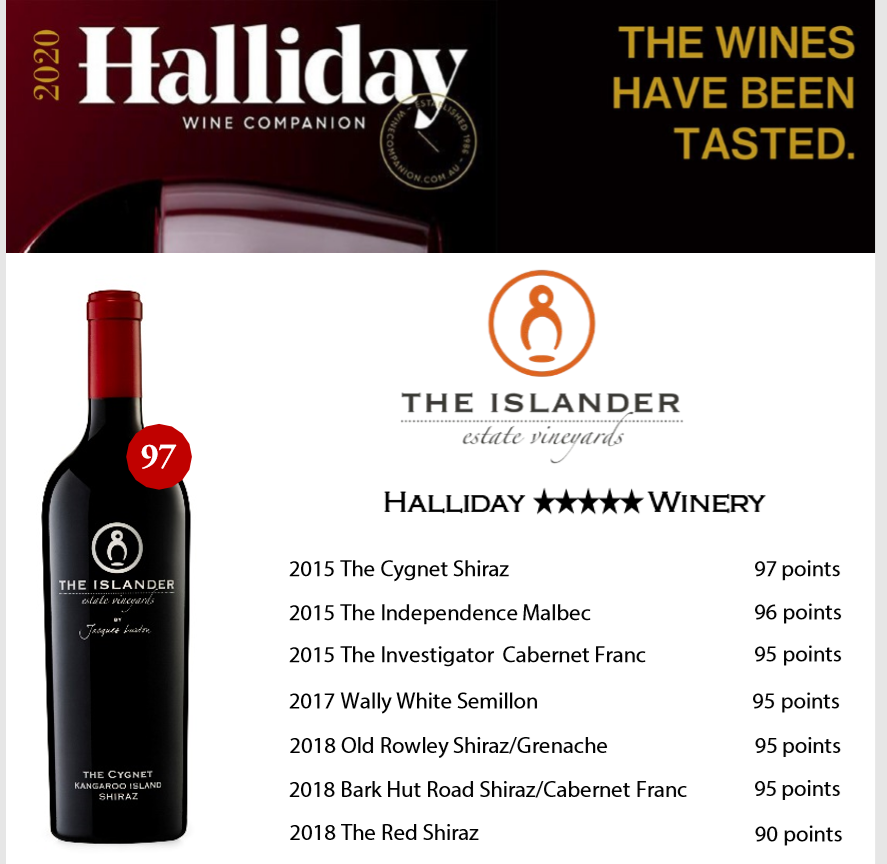 Islander Estate Vineyard Halliday Wine Companion