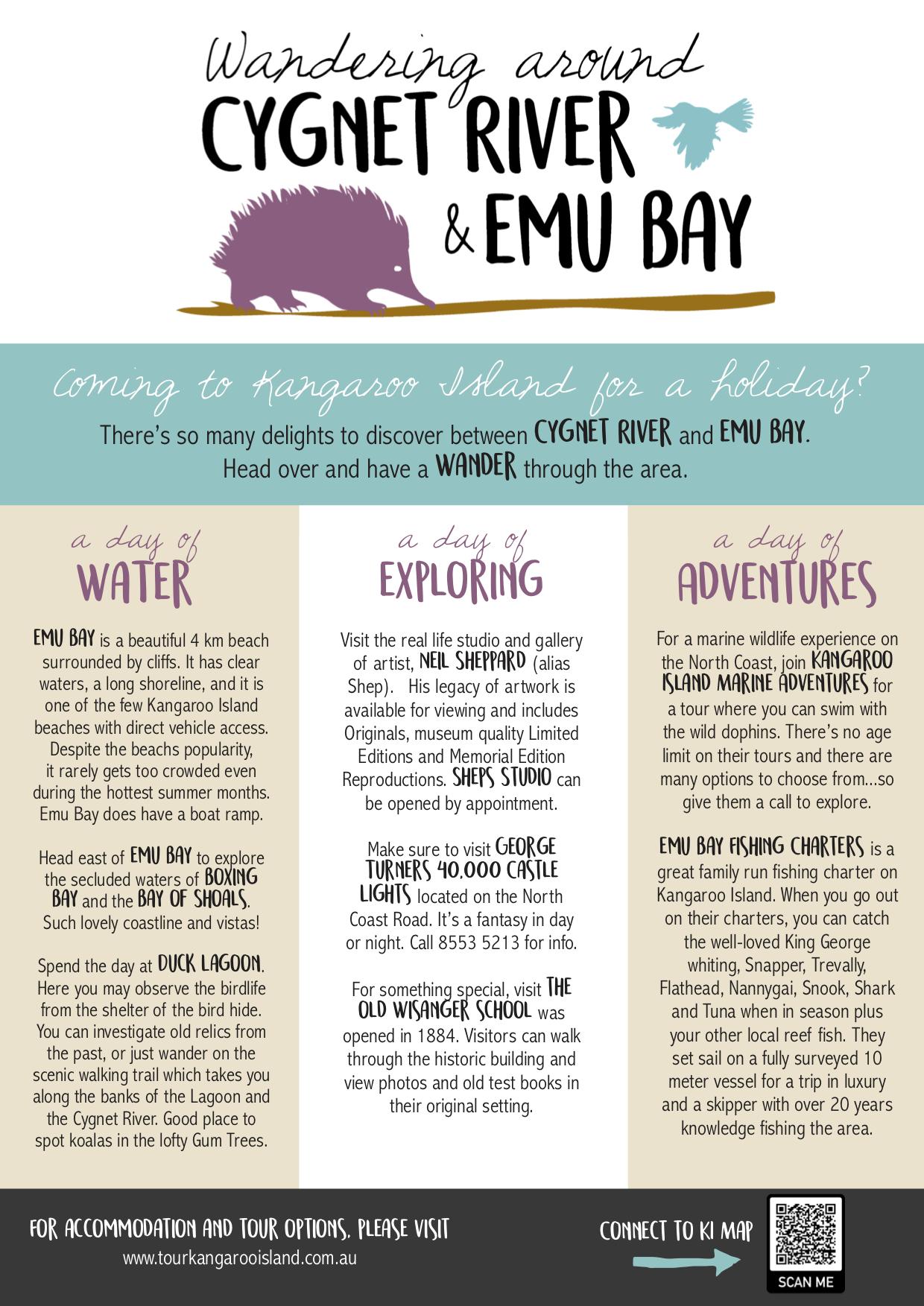 Wandering Around Cygnet River and Emu Bay
